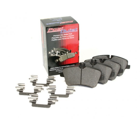 Posi Quiet Brake Pads - Front (BMW E46)