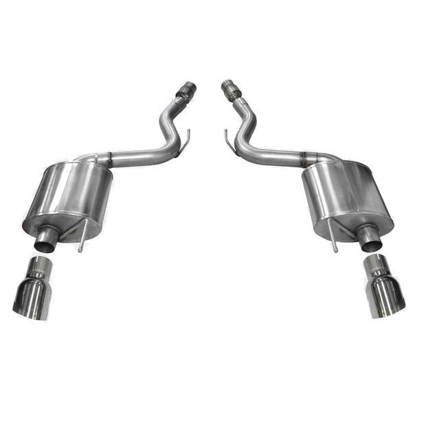 3 inch Axle Back Exhaust Touring (Mustang GT 2015-16)