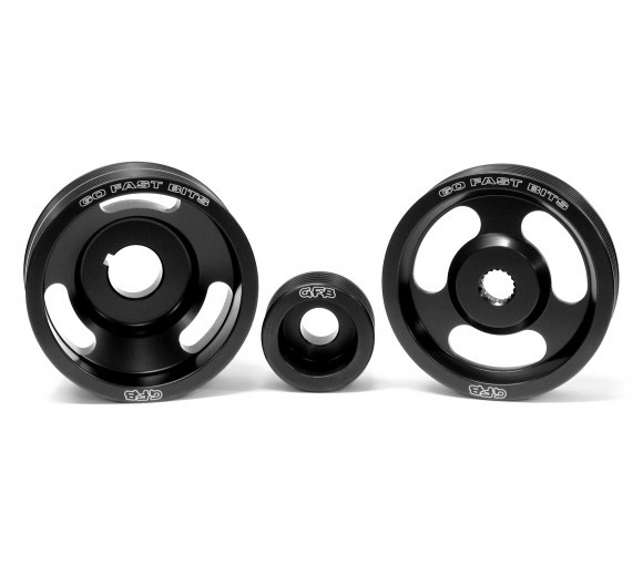 Lightened Underdrive Pulley Kit - 3 piece (WRX/STi 94-98, Forester 98-00)