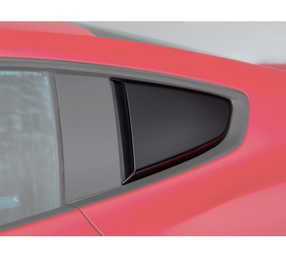 Quarter Window Scoop - Black (Mustang 15-16)
