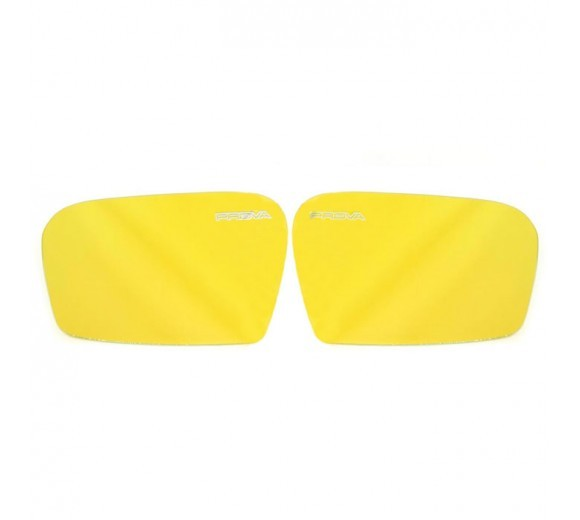 Yellow Wide-View Door Mirrors (WRX/STi 08-14)