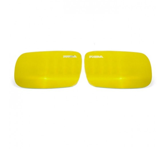 Yellow Wide-View Door Mirrors (WRX/STi 01-07)