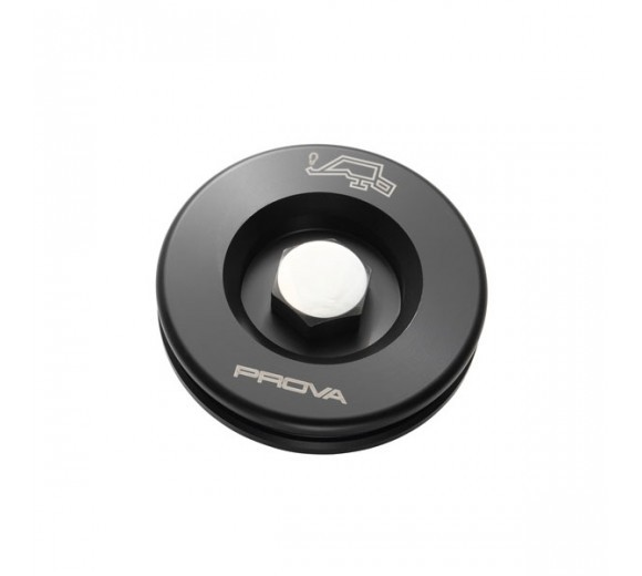 Black Hex Oil Filler Cap (Subaru)