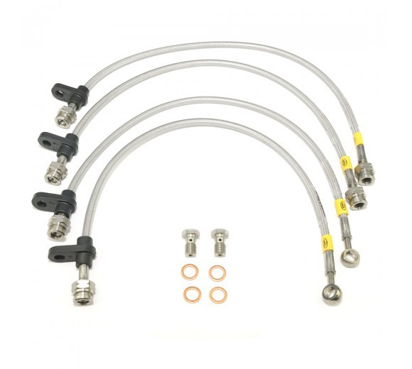 Braided Brake Lines Kit (EVO X)