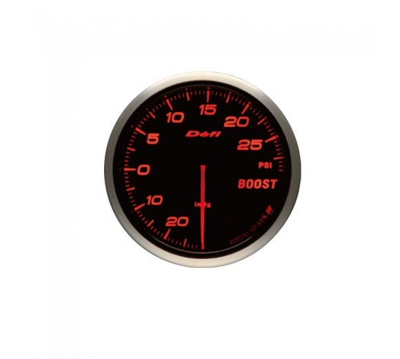 Advance BF Boost Gauge - 30 psi (60mm) Red