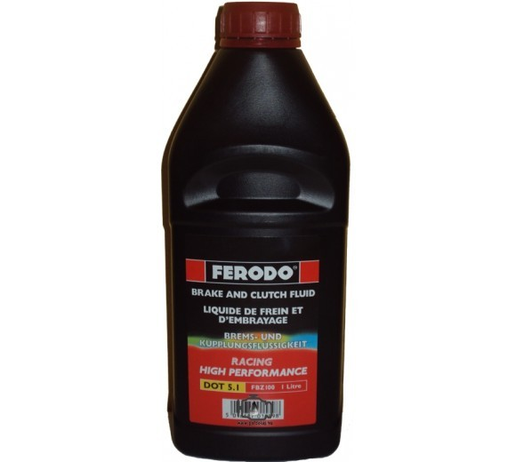 Dot 5.1 High Performance Brake Fluid (1L)