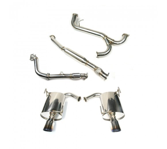 Turbo Back Exhaust - Catted (Forester XT 08-12)