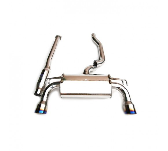 Q300 O2 Back Exhaust (EVO X)