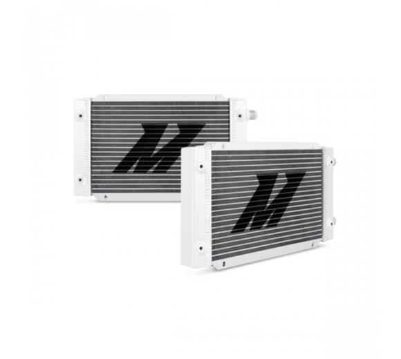 19-Row Dual Pass Oil Cooler - Silver