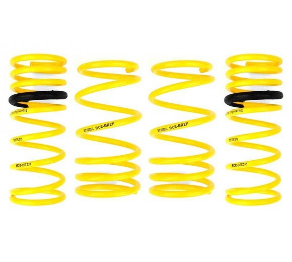 Yellow Lowering Springs (BRZ/86)