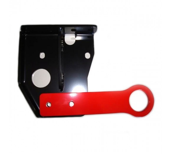 Rear Tow Hook - Red (EVO X)