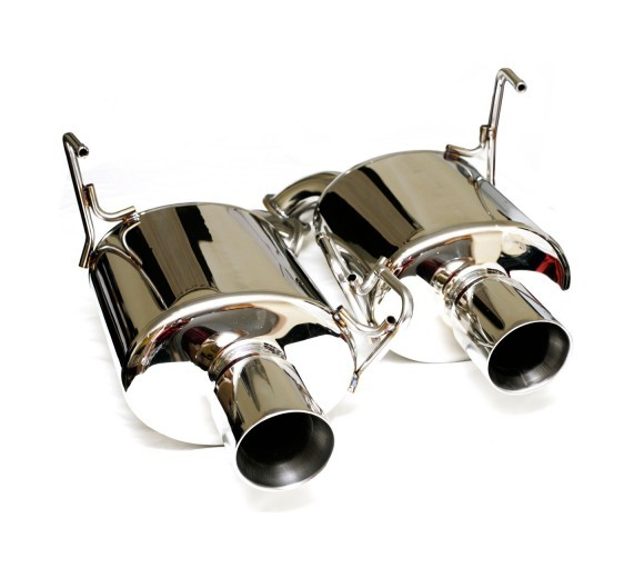 Dual Stainless Steel Mufflers (Liberty GT 2010)