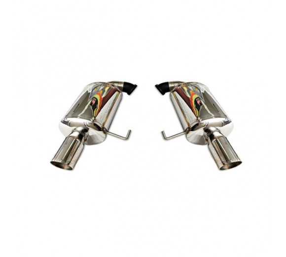 Dual Stainless Steel Mufflers (Liberty GT 04-09 Wagon)