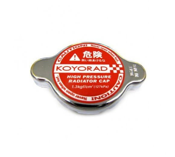 1.3 Bar High Pressure Radiator Cap - Hyper Red