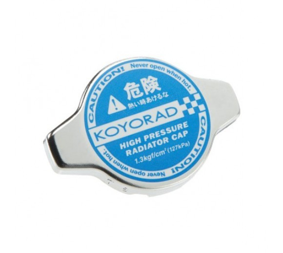 1.3 Bar Radiator Cap - Hyper Blue (BRZ/86)