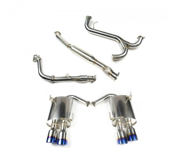 Turbo Back Exhaust - Catted (WRX/STi 11-14 Sedan)