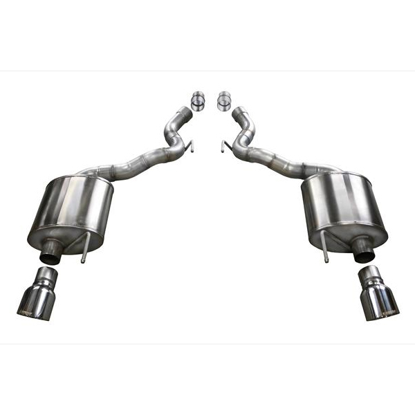 "2.75"" Sport Axle Back Exhaust - Dual 4.5"" Tips (15-17 Mustang GT Convertible)"