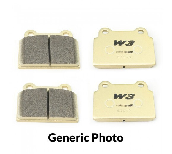Brake Pads - W3 Rear (EVO 5-9/STi 99-15 Brembo)