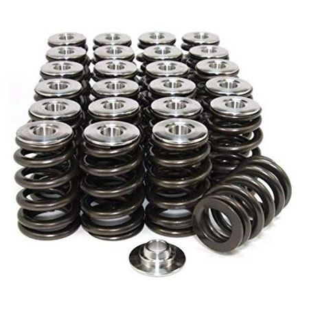 Conical Valve Spring with Ti Retainer (2JZ-GTE)