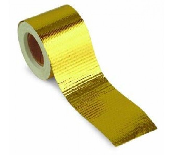 Gold Reflective Heat Tape 2in x 15ft Roll