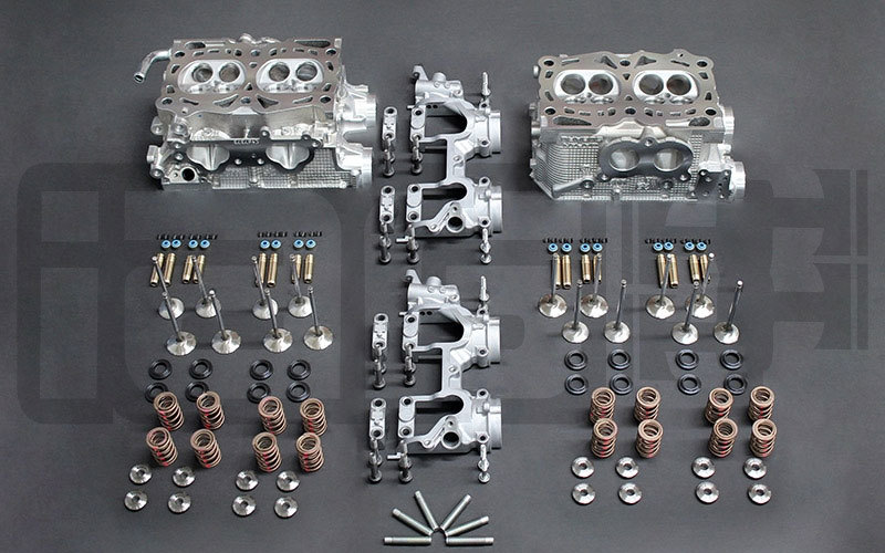 Stage 5 Head - 'V' Casting Excluding Cams/Lifters (06-07 STI)