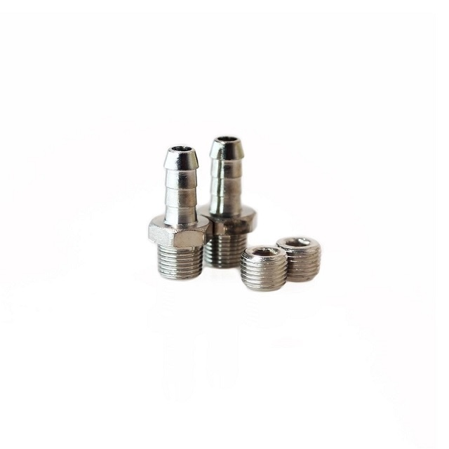 1/16 NPT 6mm Hose Tail Fittings + Blanks