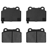 PosiQuiet Semi-Metallic Brake Pads Rear (EVO X)
