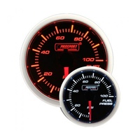 52mm Electrical 'Performance' Fuel Pressure Gauge - Amber/White