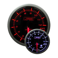 52mm 'Premium' Exhaust Gas Temperature Gauge - Amber/White (Celsius)