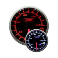 52mm Electrical 'Premium' Oil Pressure Gauge - Amber/White