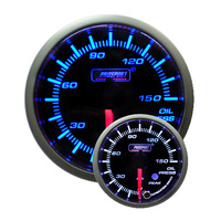 52mm Electrical 'Premium' Oil Pressure Gauge - Blue/White