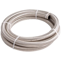 100 Series Stainless Steel Braided Hose -10AN 3m