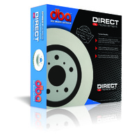 Street Series 2x Standard Solid Rear Rotors (Jaguar 65-99)
