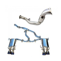 Q300 Turbo Back Exhaust (WRX 11-14/STi 11-20 Sedan)