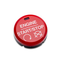 Red Starter Button (Mustang GT/EcoBoost 2015+)