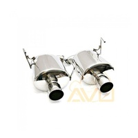 Dual Stainless Steel Mufflers (Forester XT 08-12)